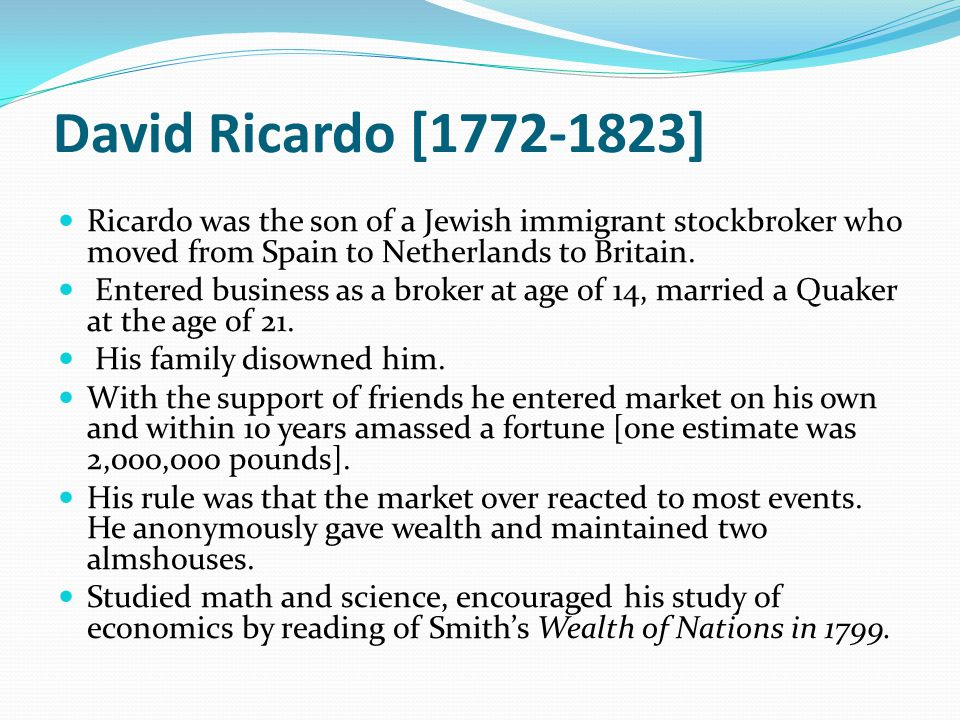 bullion essay high including price profits ricardos Ricardo on corn laws 1 an essay on the influence of  estimating the  advantages of a cheap price of corn at a higher value, i have come to a different   to its cultivation, of whatever kind, have been paid, including the profits of the   precious metals, lower the value of gold and silver, or which is the same thing,  raises the.